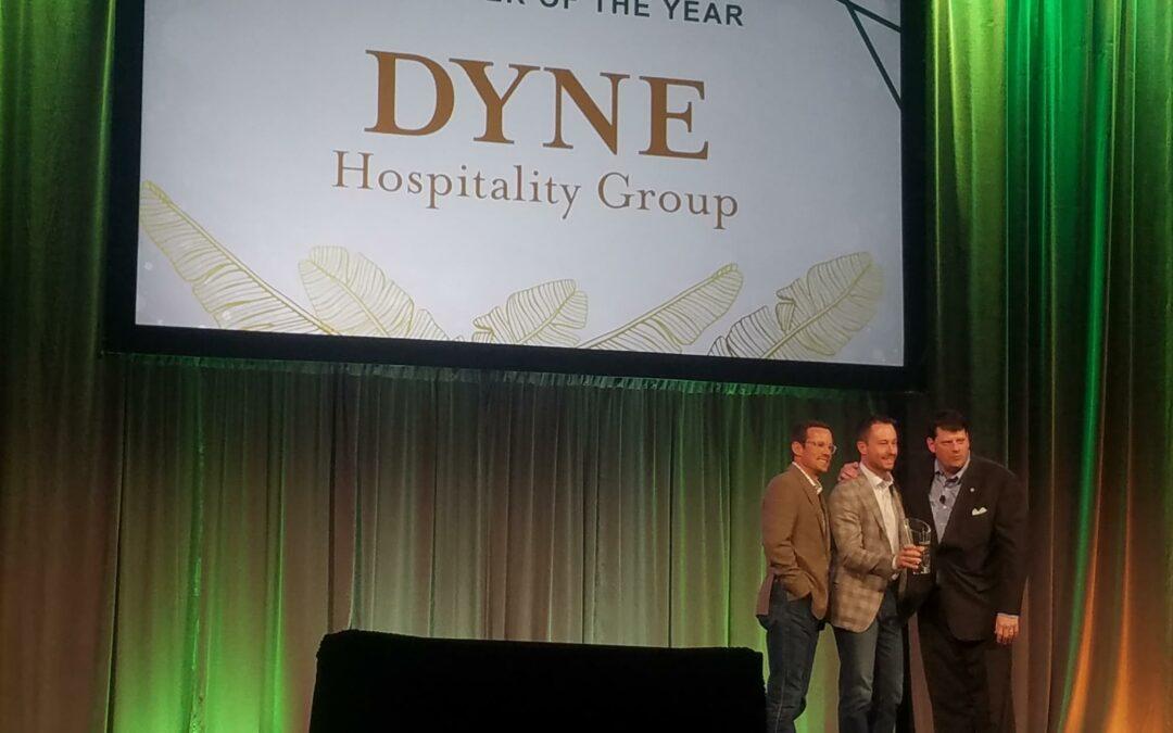DYNE Hospitality Group Awarded 2019 Developer of the Year